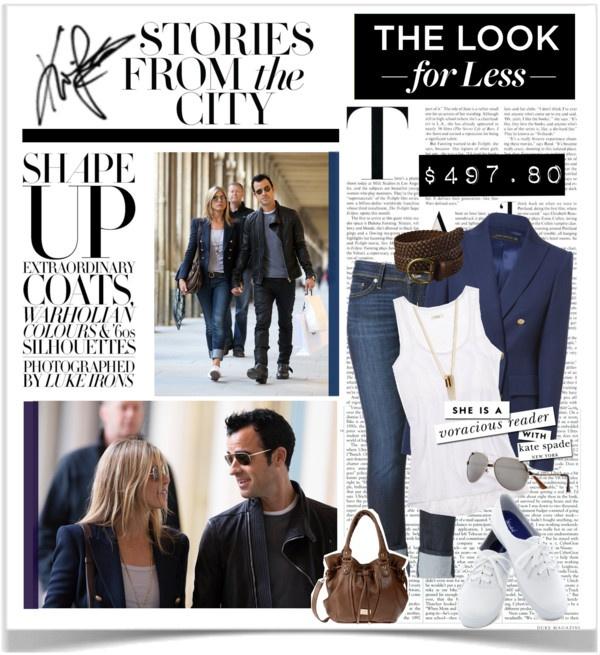 Jennifer Aniston in Freizeitkleidung
