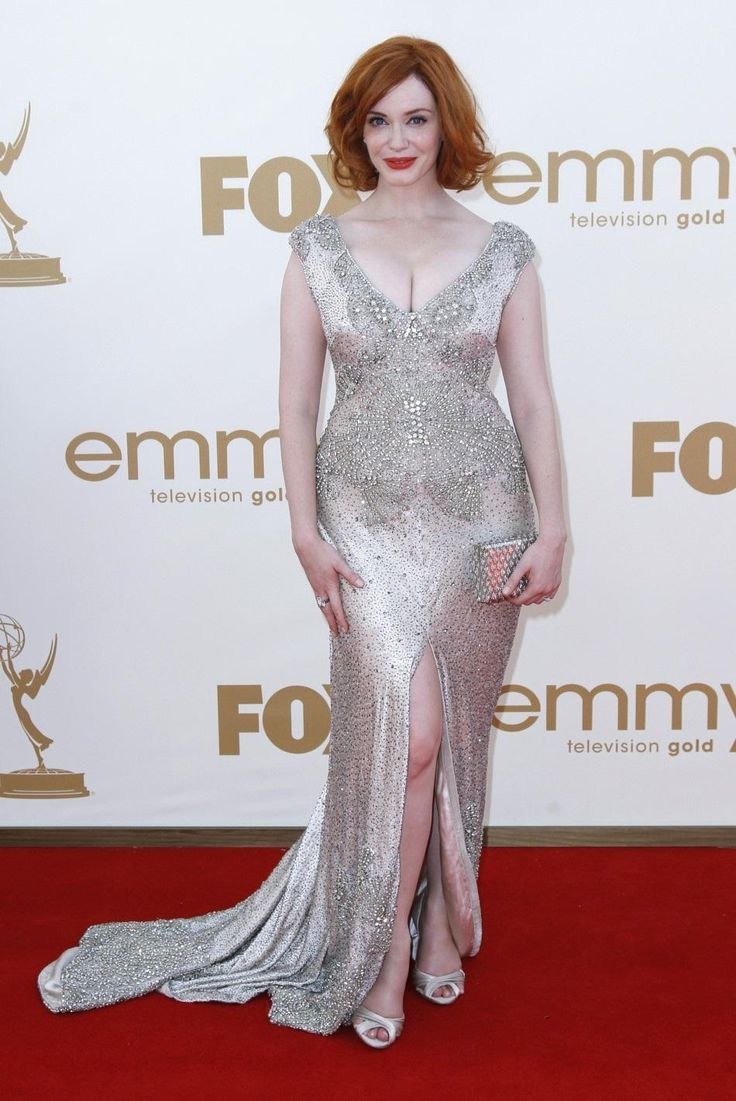 Higher resolution image of Actress Christina Hendricks From Mad Men Arrives At The Rd Primetime Christina Hendrick Firefly at 950x1422 uploaded by laird444