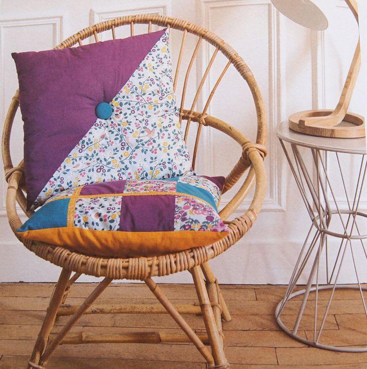Coussins, rideaux and Co : le nouveau livre couture Frou-Frou | Mercerie Créative - Couture Facile I Paritys