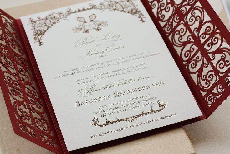 Spanish Style Wedding Invitations