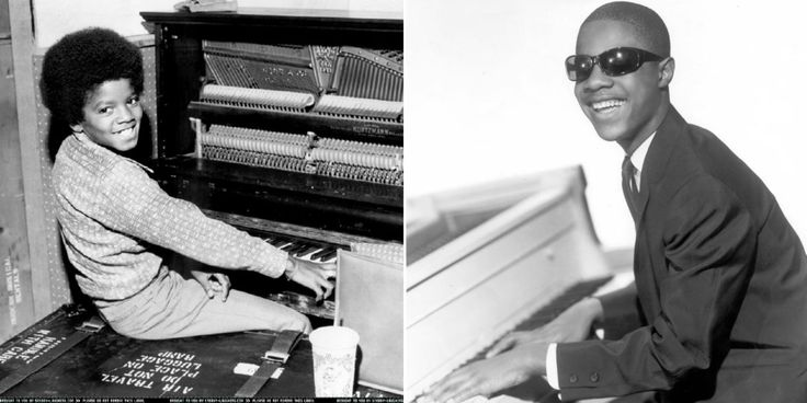 Michael Jackson and Stevie Wonder were really Good Friends- All their so...