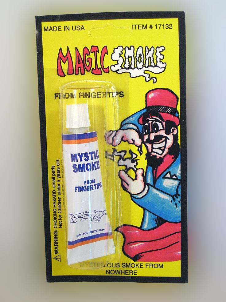 MYSTIC SMOKE..... Just rub your fingers together and like magic smoke appear from your fingertips. Great effects trick and easy to use. www.theonestopfunshop.com