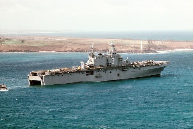 Tarawa class USS Belleau Wood (LHA-3)