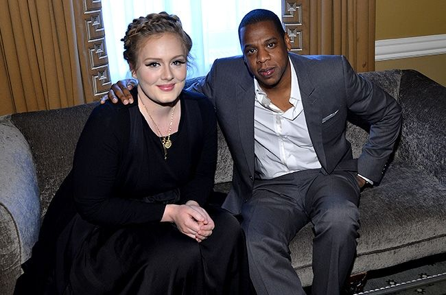 Jay-Z And Adele Hang Out In NYC