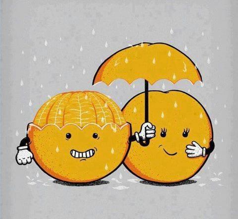 oh honey don't get wet