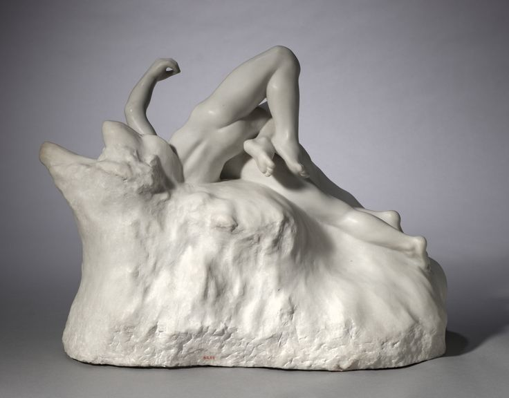 Auguste Rodin, marble, Overall: 53.5 x 69.8 x 40.6 cm (21 1/16 x 27 1/2 x 16 in). Gift of Carrie Moss Halle in memory of Salmon Portland Halle 1960.85
