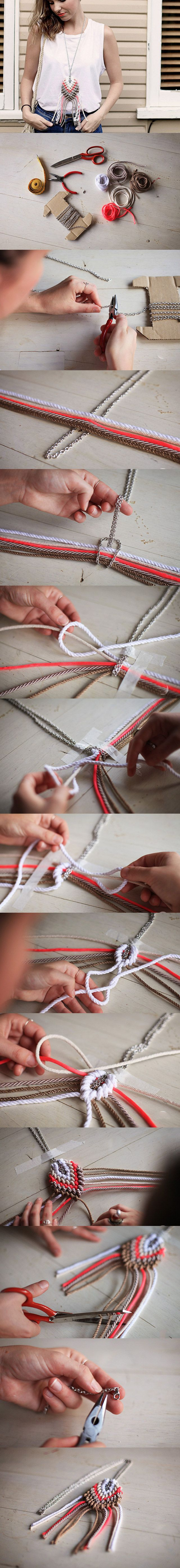 DIY Necklace diy crafts craft ideas easy crafts diy ideas crafty easy