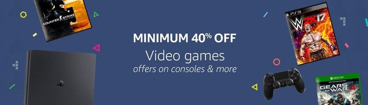 Deals on Video Games, Gaming Consoles - PS4, Xbox One and Accessories on Amazon India | FlipHotDeals
