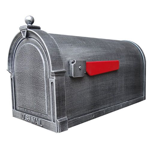 Special Lite Products Company Berkshire Silver Curbside Mailbox Scb 1015 Sw Bellacor Mounted Mailbox Mailbox Berkshire Special lite mail box
