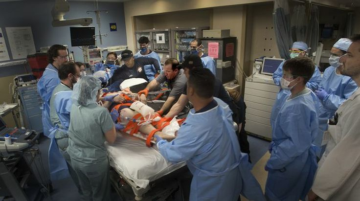 Florida trauma centers charge outrageous fees the moment you come through the doo