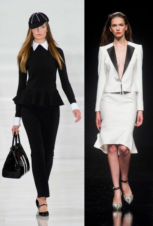 Модные женские костюмы весна-лето 2014