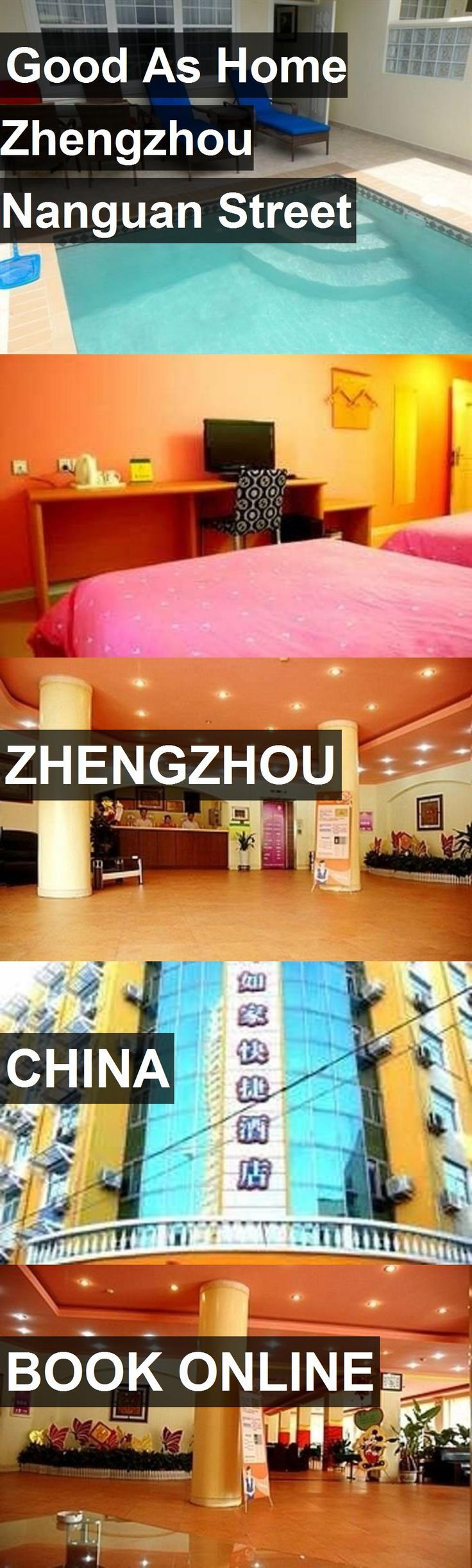 Hotel Good As Home Zhengzhou Nanguan Street in Zhengzhou, China. For more information, photos, reviews and best prices please follow the link. #China #Zhengzhou #travel #vacation #hotel