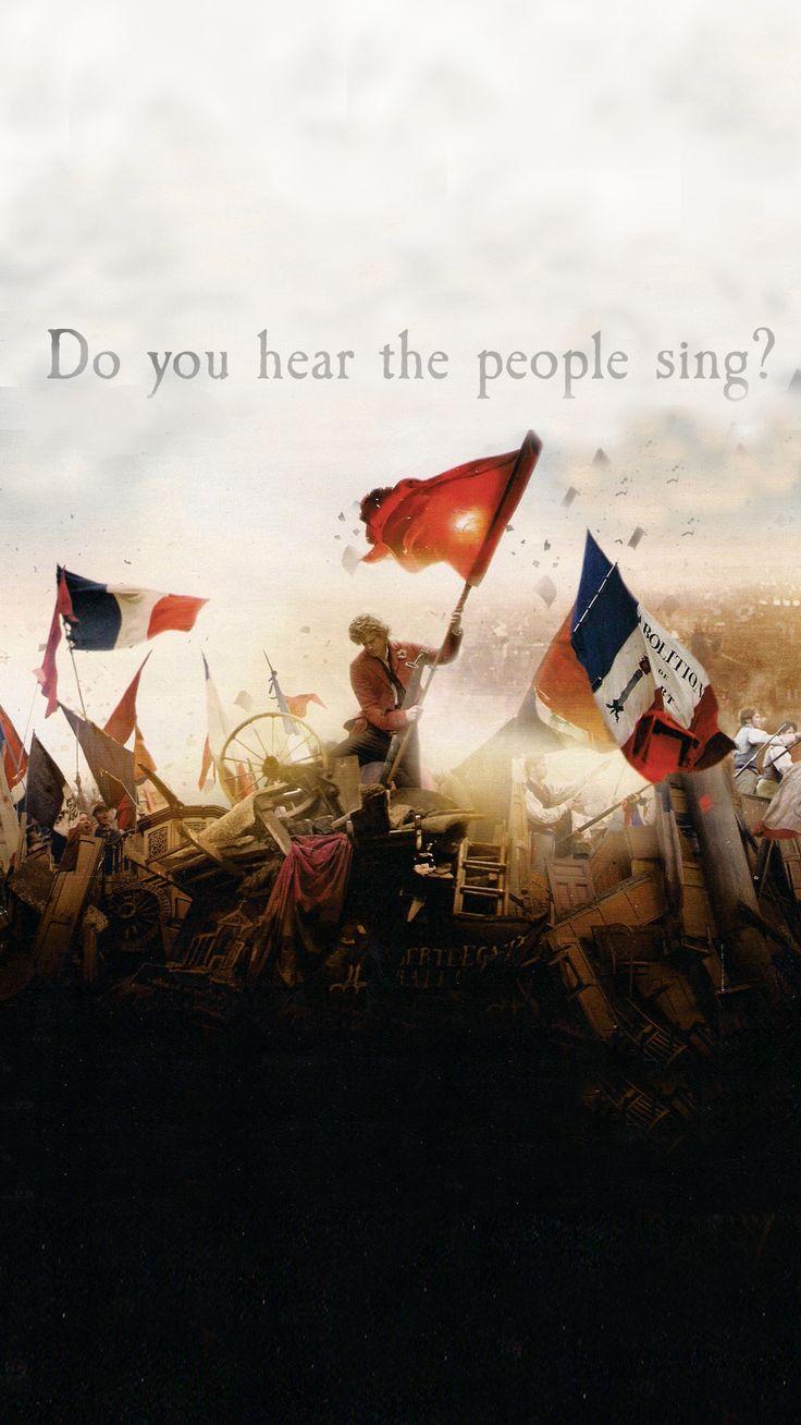 Les Misérables - iPhone Backgrounds - Broadway Backgrounds