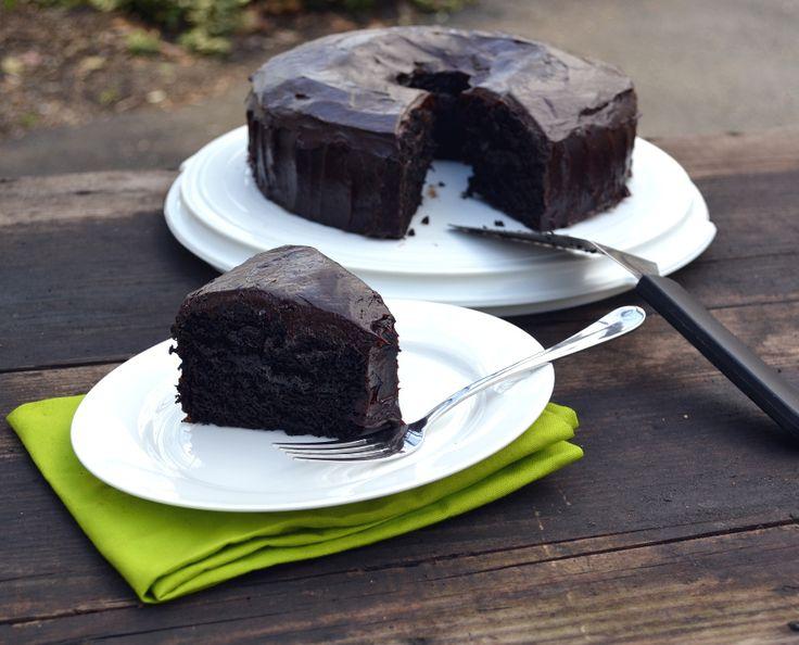Chocolate Avocado Cake with Chocolate Avocado Buttercream Frosting - craftycookingmama.com