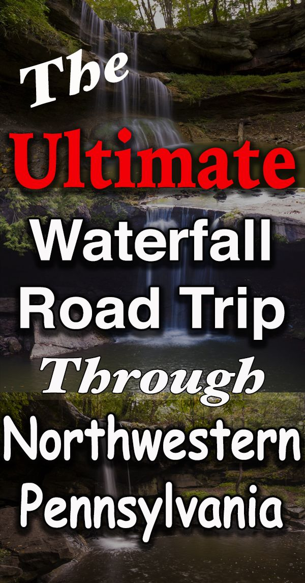 Take a road trip through some of Northwestern Pennsylvania's best waterfalls: http://uncoveringpa.com/waterfall-road-trip-northwestern-pennsylvania