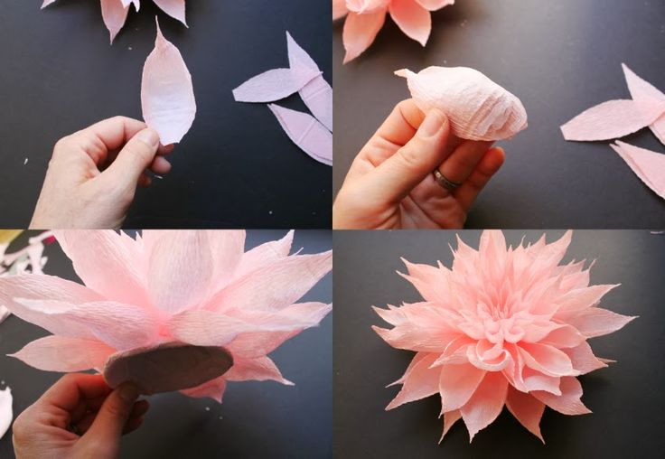 Crepe Paper Flower Headpieces by Featured Artist Tiffanie Turner | Carte Fini