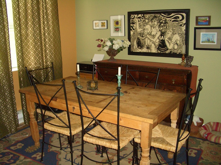 Before #8: Dining room makeover