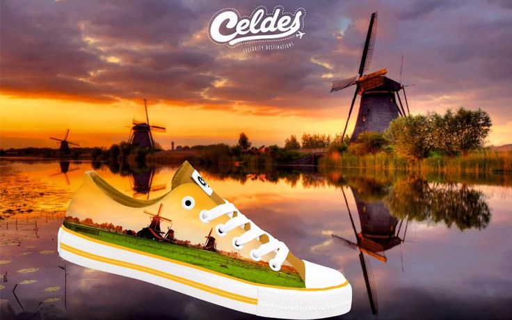 Next destination: Netherlands 🇳🇱  Be ready for your trip at: http://celdes.com/all/260-windmills-at-sunset.html #exploreceldes #exploretheworld #netherlands