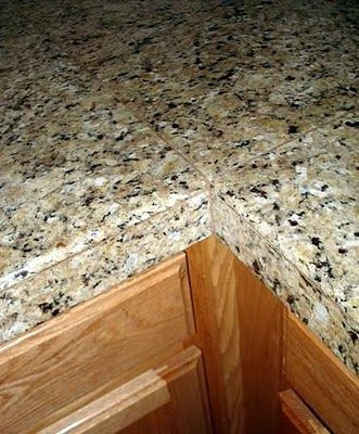 Granite Tile Countertops, am I dumb that I didn't know this existed?