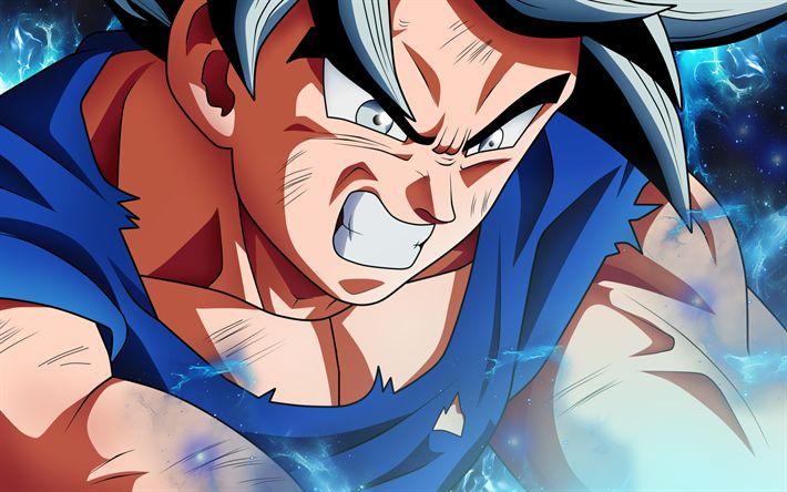 Download wallpapers Black Goku, 2018, fighter, DBS, manga, Goku, Dragon Ball Super