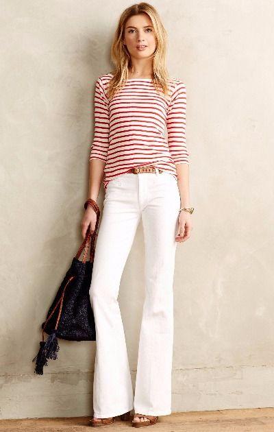 MiH Casablanca Petite Flare Jeans