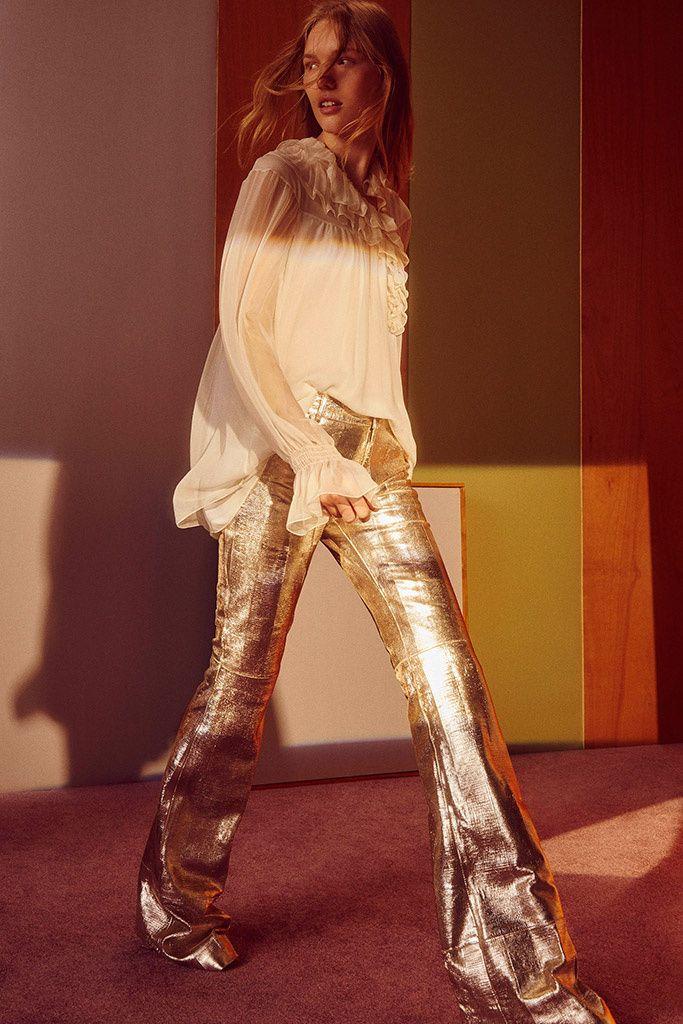 Pantalon dorad Chloé