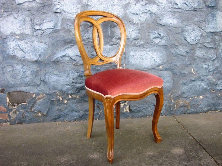 besonderer Chippendale Stuhl -- vintage selten von Mon Ami(e) auf DaWanda.com