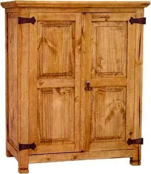 Monterray Rustic Short Armoire