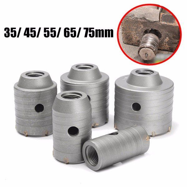 Us 6 58 60 35 75mm Wall Hole Drill Bit Hole Sawtooth Brick Concrete Cement Walls Hole Cutter Tool Accessories From Tools Industrial Scientific On Banggood C Bohrer Ziegel Zement