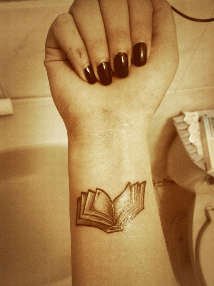 Small Book Tattoo: 266 Best Literary Tattoos Images On Pinterest