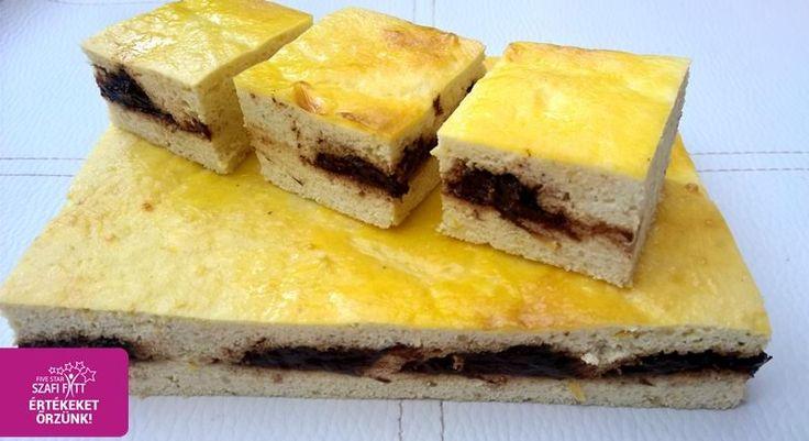 Szilvaklekváros paleo túrós piskóta (gluténmentes, tejmentes, cukormentes, szénhidrátszegény)