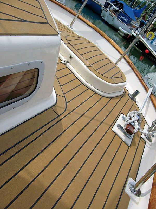 Synthetic Teak Boat Decking Price