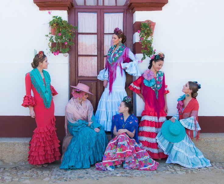 Alquiler de trajes de flamenca en Be Flamenca