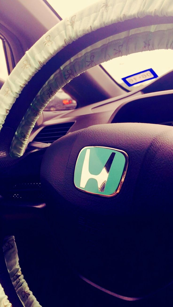 Honda | Emblem | Mint | Blue | Cute| Love | Bows | GRFXP |