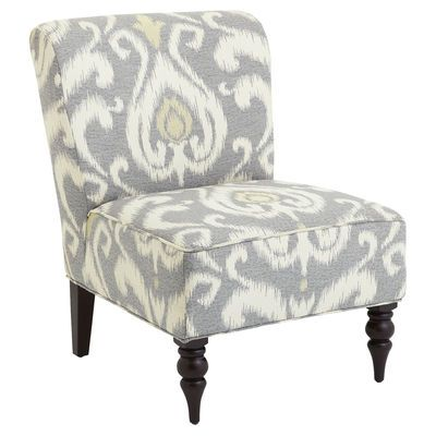 Addyson Chair - Gray Ikat #chair
