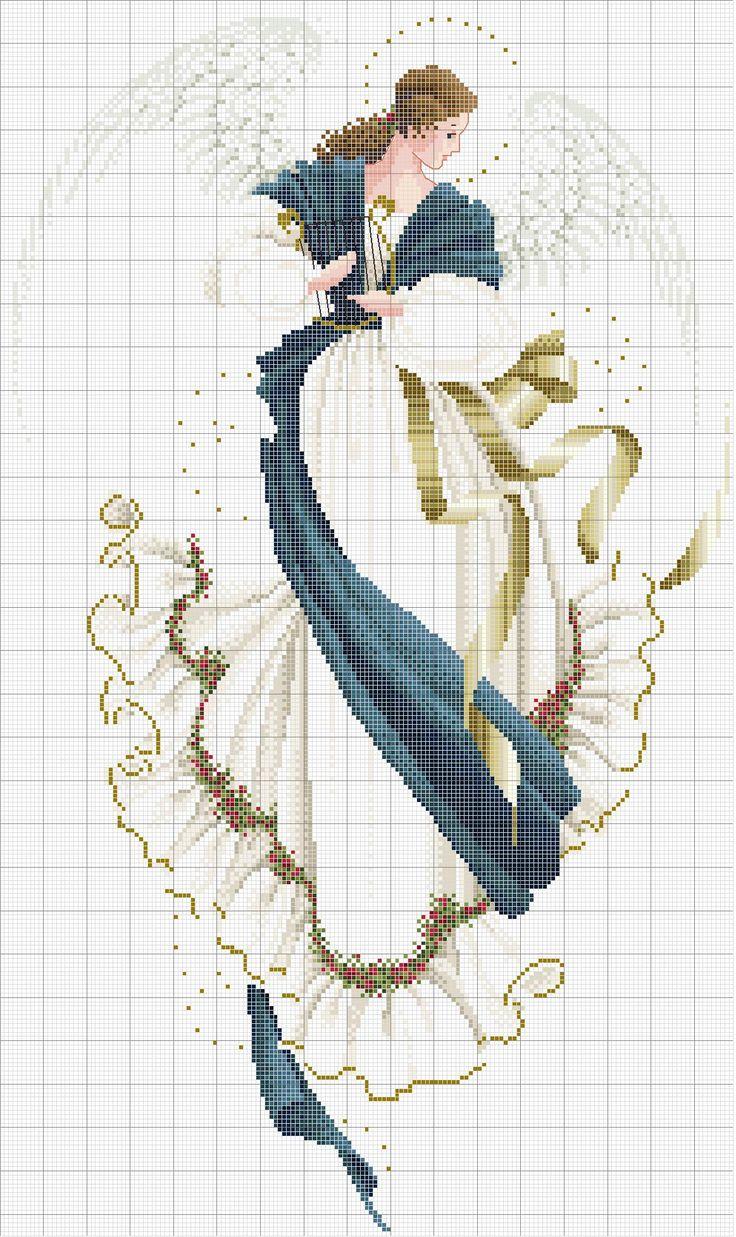 Cross stitch *<3* Angel