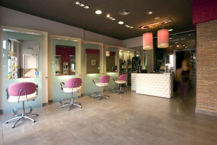 Decoracion de locales peluqueria decoraci n locales for Disenos de espejos para peluqueria