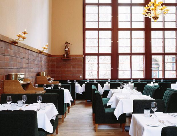A Michelin Star for Pauly Saal.  You can't spit in Berlin without landing on something of historic interest, and the site of Pauly Saal—the new restaurant opened by the team behind the well known Grill Royal—is no different. The former Jüdische Mädchenschule, or Jewish girls' school, was built in Mitte in 1928 and was taken over by the Nazis as early as 1930.   Auguststrasse 11  #michelin #berlin