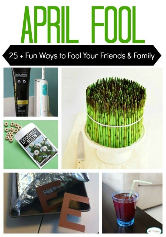 Great Ideas for April Fools Day! (not mean, but funny pranks!)