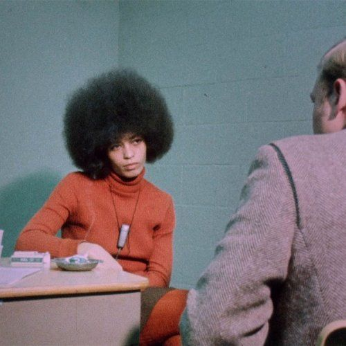 Angela Davis in The Black Power Mixtape 1967-1975