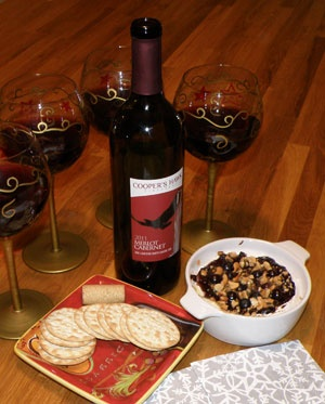 Cooper's Hawk Vineyards - 2011 Merlot Cabernet and Five Berry Brie           T.G.I.F.!     St. Andrew's Day marks a special day in which Scotland begins their winter festivities that carry on through the holiday season and here we began our Christmas decorating and shopping.   While not a holiday for us, we took a cue from our friends across the pond to mark the day and share a glass of Cooper's Hawk wine with friends.    Read More  http://www.essexcountywineries.ca/wines/2012/20121202.htm