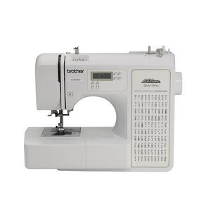Brother Computerized 100-Stitch Project Runway Sewing Machine, CE1100PRW  $129.97  I would LOVE this!  But not now!