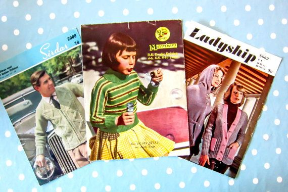 Vintage knitting pattern NOT PDF child's by thevintagemagpie01