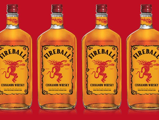 "Fireball Cinnamon Whiskey, the 33 per cent proof drink that claims to ""burns like hell"", has been pulled from shelves across Europe after it was found to contain too high levels of a chemical also used in anti-freeze."