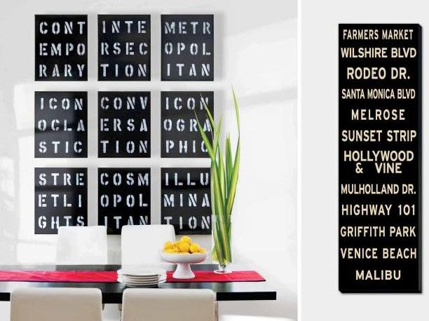 20+ Best Pictures Dining Room Wall Decor Ideas & Designs - Dining Room Wall Art Ideas WithTypography Artwork