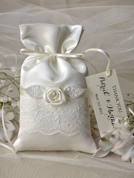 Custom listing 20 Vintage Wedding Favor Bag by forlovepolkadots