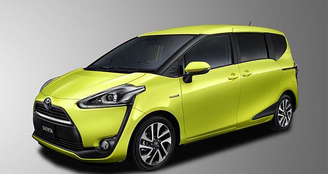 La elegancia deportiva llegó a las Minivans con la nueva Toyota Sienta