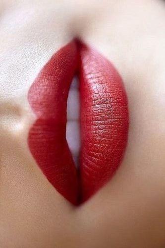 Perfekte Rote Lippen!