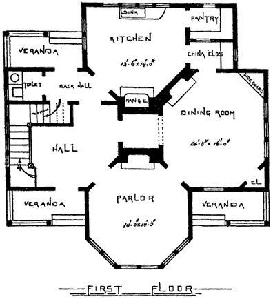 Best Antique Houses Images On Pinterest Victorian House Plans - Victorian house plans and homes