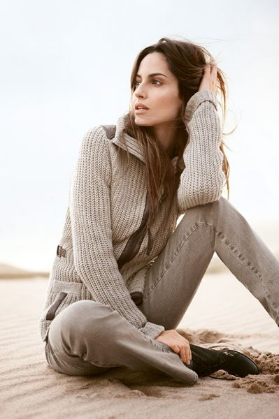 Casual comfort for those breezy Summer nights. #grey